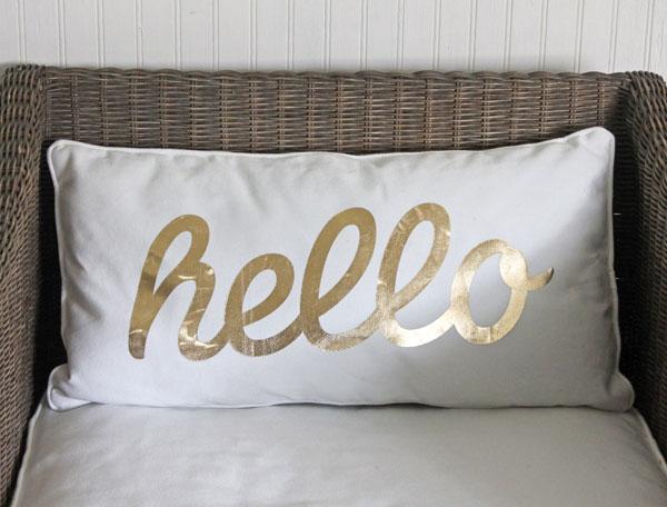 gold-hello-pillow