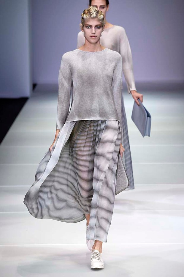 Giorgio Armani Milan Fashion Week Spring Summer 2015 September 2014