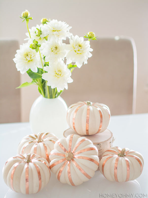 Copper-tape-pumpkins