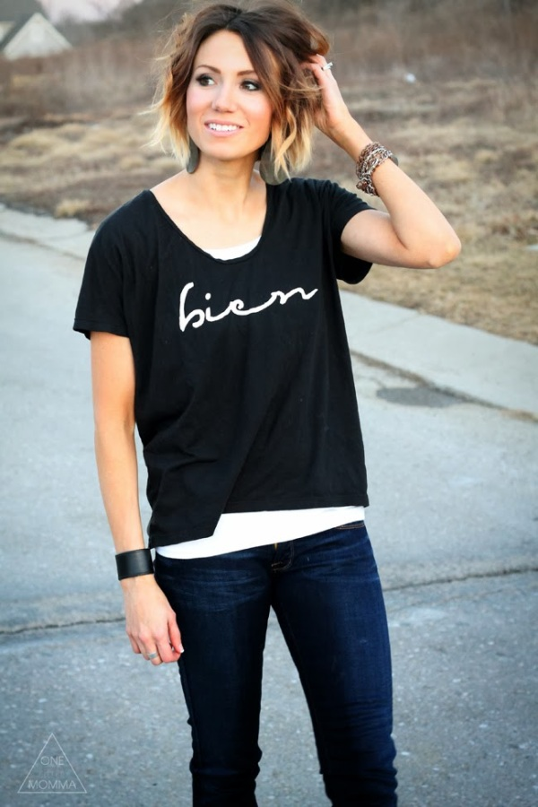 wavy-short-ombre-hair-graphic-tee