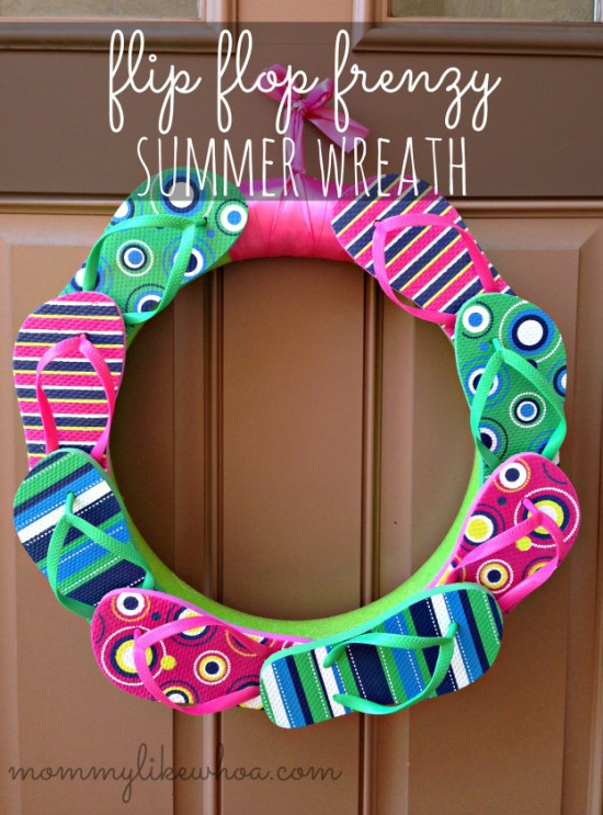 Flip-Flop-Frenzy-Summer-Wreath-mommylikewhoa.com_