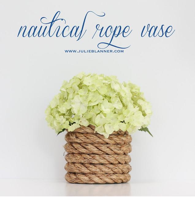 M&J Trimming - Nautical Rope Vase