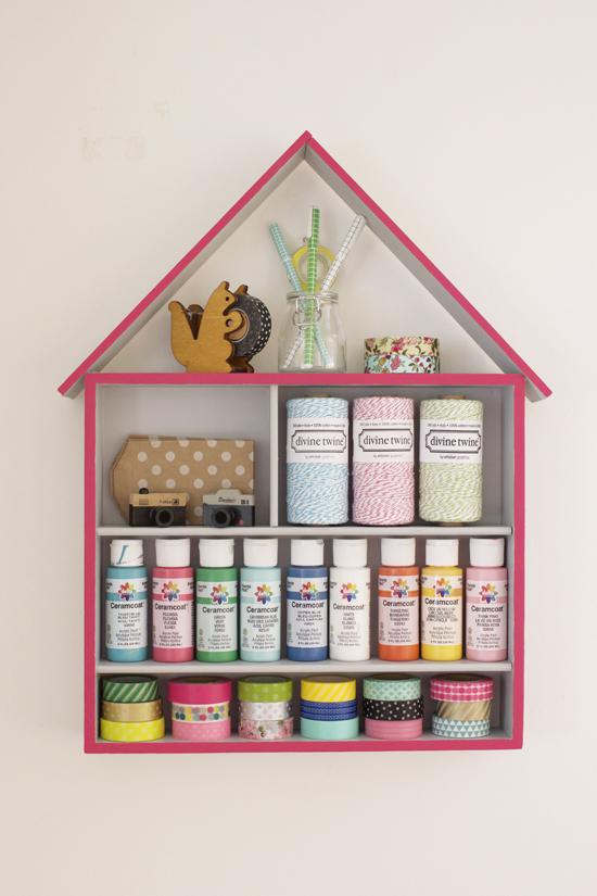 M&J Trimming - Birdhouse Storage