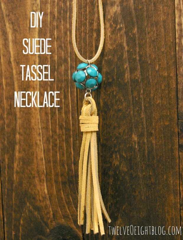 M&J Trimming - DIY Suede Tassel Necklace