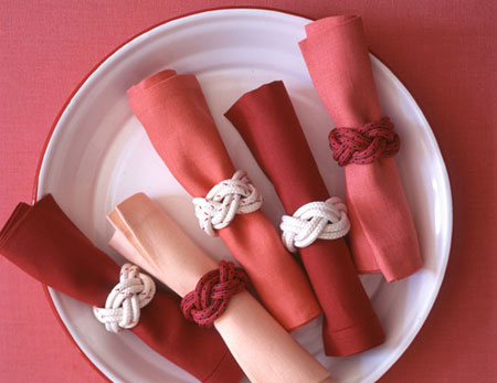 M&J Trimming - Rope Knot Napkin Rings