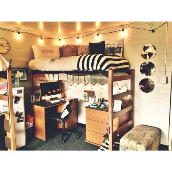 Cozy Dorm Room Inspiration « M&J Blog ~ 210202_Dorm Room Futon Ideas